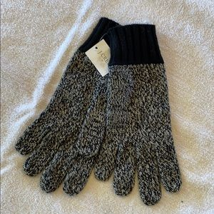 J Crew One Size touch Screen Gloves NWT
